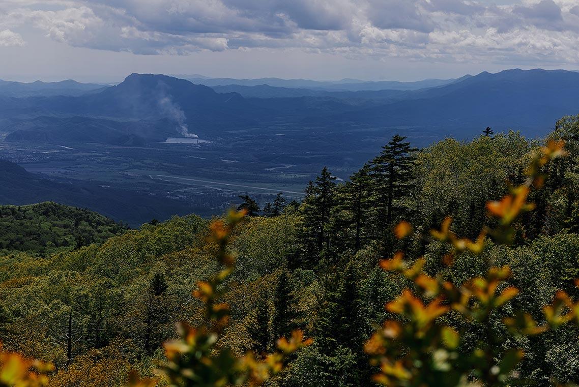 Долина реки Партизанской - фото с вершины Макарихи