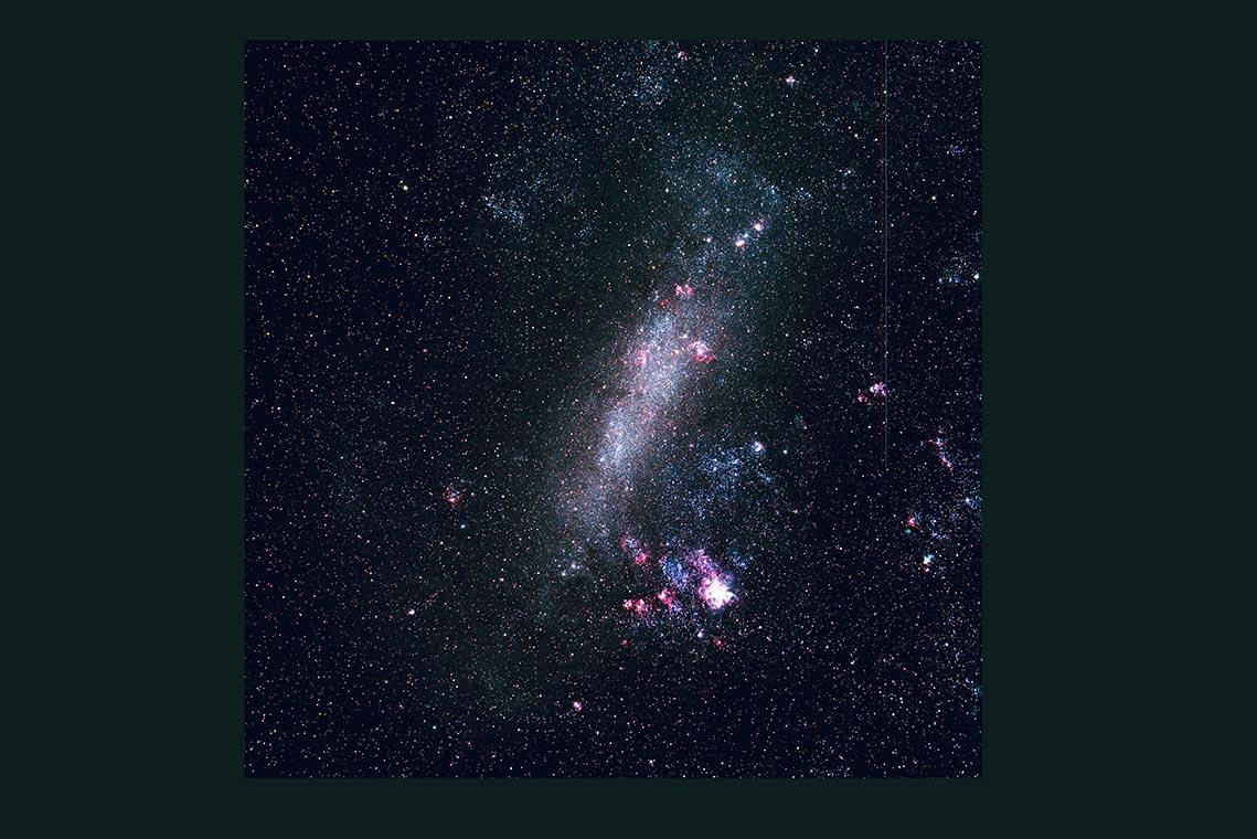 Большое Магелланово Облако (Large Magellanic Cloud, LMC) - фон для скачивания