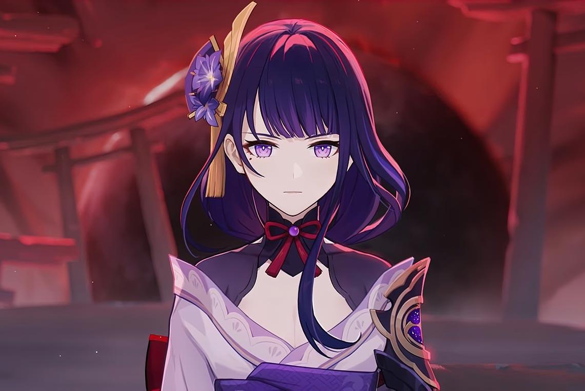 Сёгун Райдэн - правительница Инадзумы (Электро Архонт) из игры Genshin Impact
