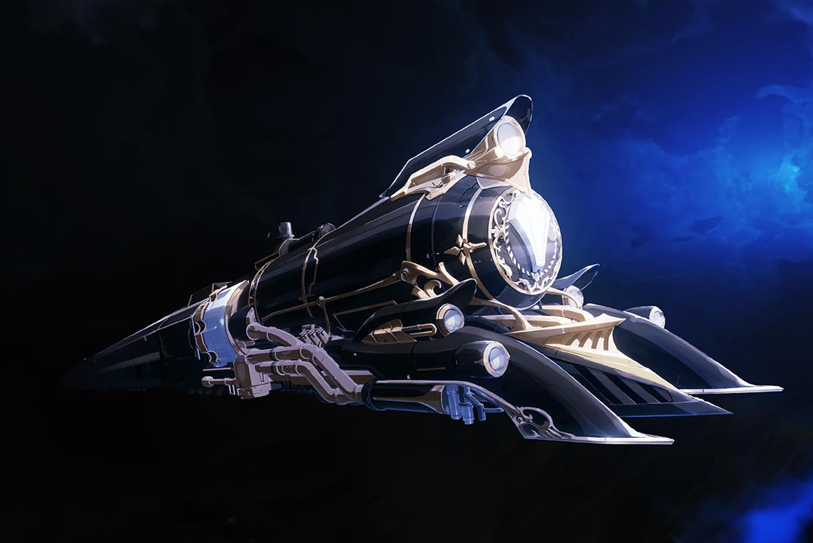 Астральный экспресс (Astral Express) из игры Honkai: Star Rail, также известной, как Honkai 4 и Genshin 2